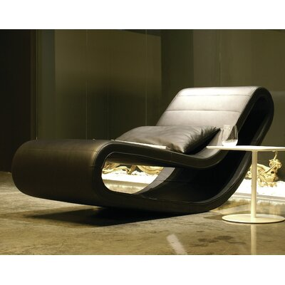 B&T Design Daydream Chaise Lounge Upholstery: Off-White
