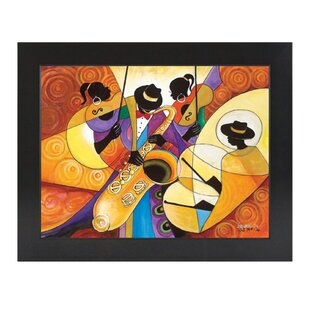 All That Jazz Framed Painting Print. By African American Expressions