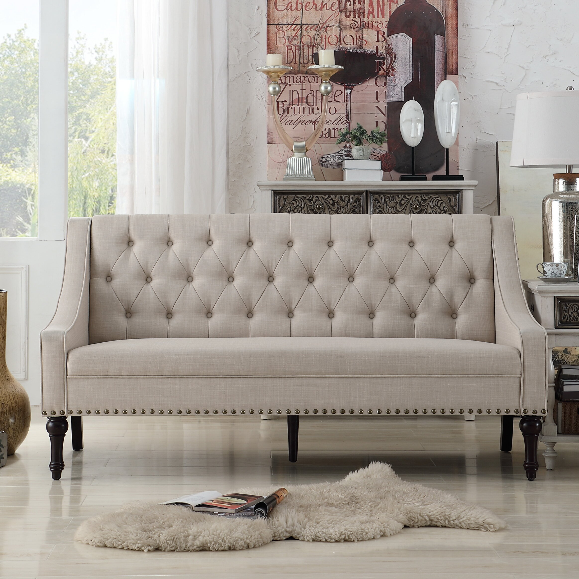 Delicieux Christiansburg Tufted Sofa