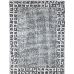 Calvin Hand-Tufted Gray Area Rug