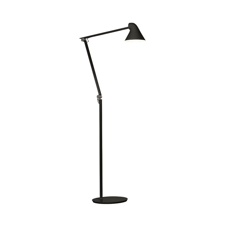 Njp 40 led task floor lamp reviews allmodern njp 40 led task floor lamp mozeypictures Image collections