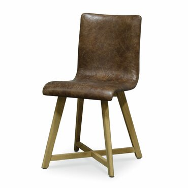 Ace Genuine Leather Upholstered Dining ChairPalecek Dining Chairs   Perigold. Palecek Dining Chairs. Home Design Ideas