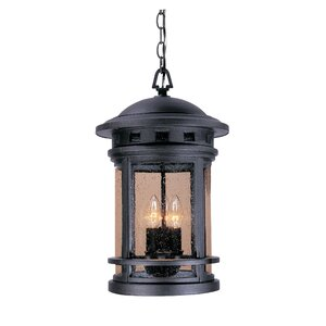 Sedona 3-Light Outdoor Hanging Lantern