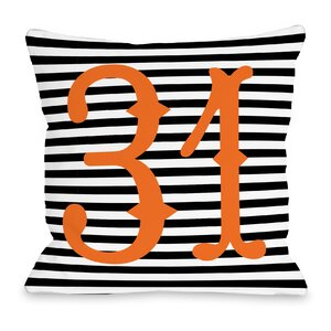 31st of October Throw Pillow