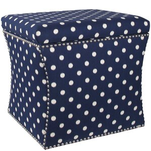 Latitude Run Adrienne Nail Button Storage Ottoman Image