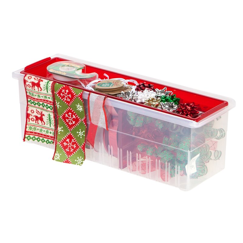 Ribbon Gift Wrap Storage