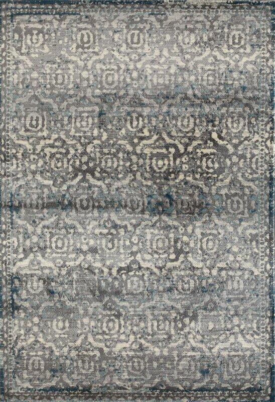 arbor grayteal area rug