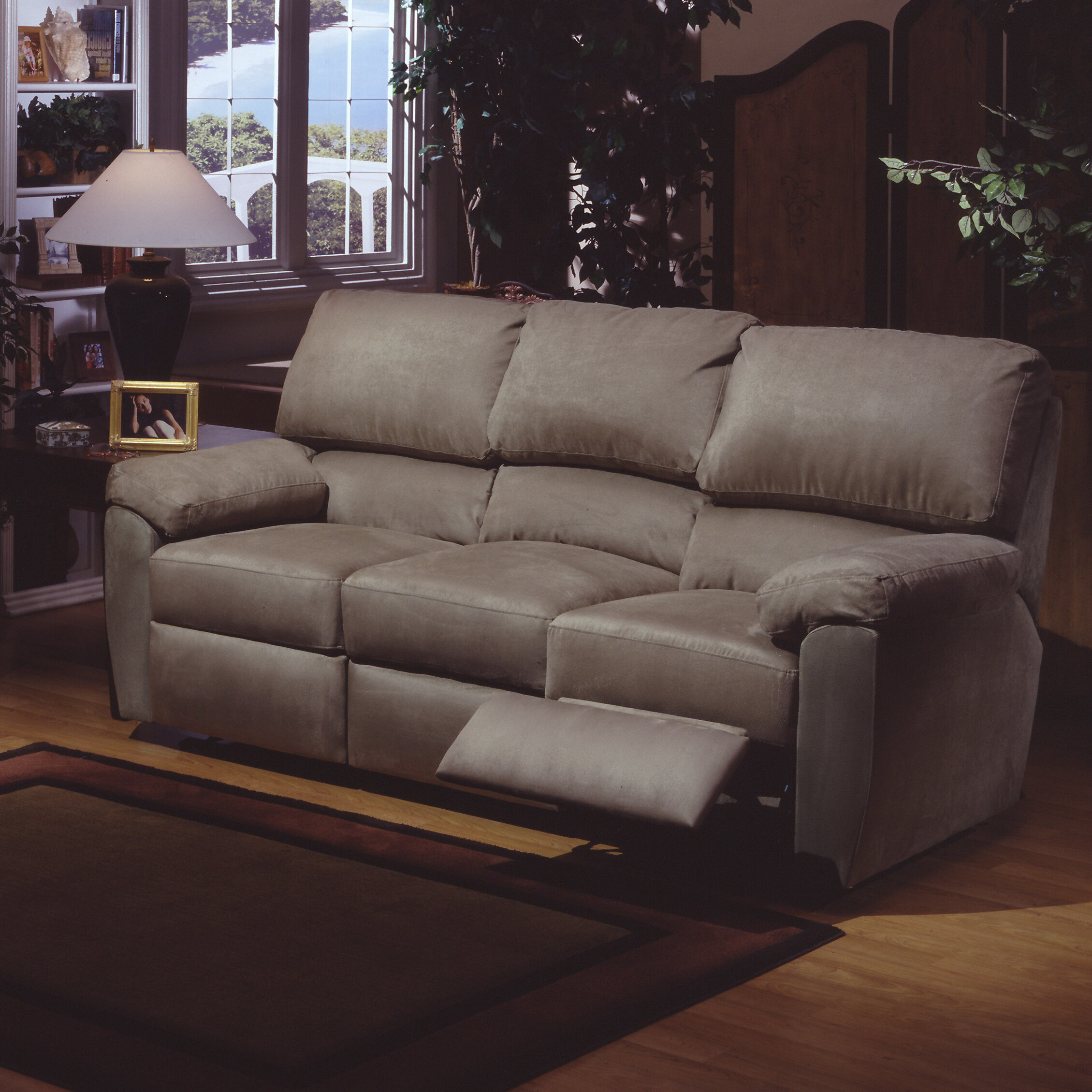 Omnia Leather Vercelli Reclining 3 Piece Leather Living Room Set ...