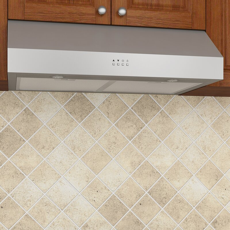 30   450 cfm ducted under cabinet range hood ancona 30   450 cfm ducted under cabinet range hood  u0026 reviews   wayfair  rh   wayfair com