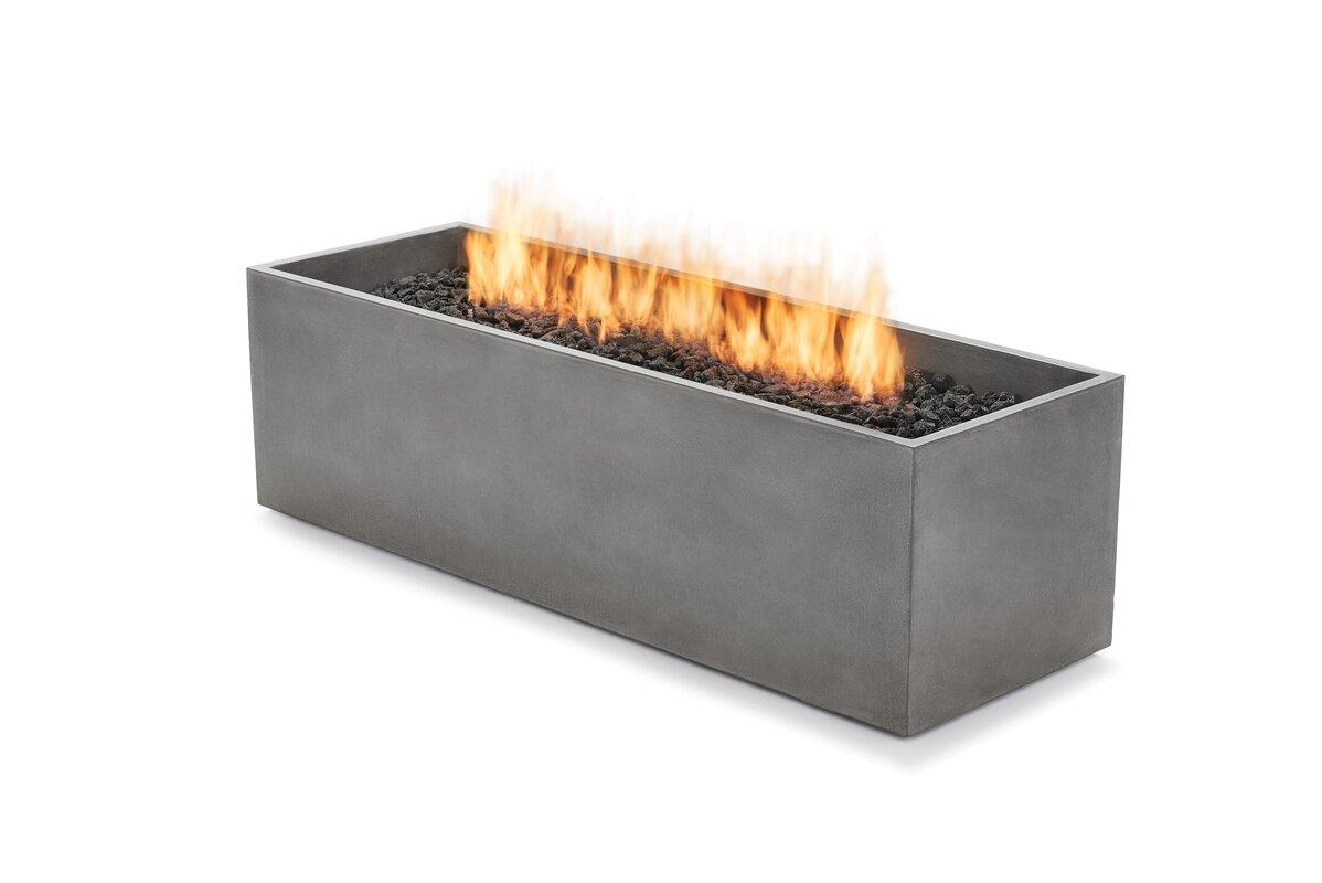 Bjfs arroyo concrete gas fire pit table reviews for Brown jordan fire pit