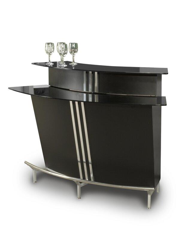 Broadway Bar with Wine Storage