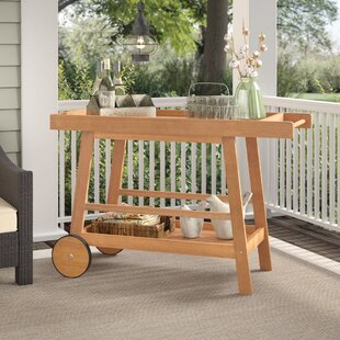 a9f920a8d55 Hugo Indoor Outdoor Bar Serving Cart