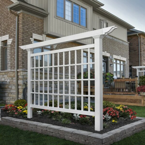 New England Arbors Camden Vinyl Lattice Panel Trellis