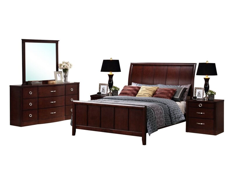Latitude Run Calla King Platform 5 Piece Bedroom Set | Wayfair