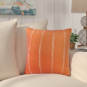 Balentine Dot Striped Indoor/ Outdoor Throw Pillow (Set of 2)