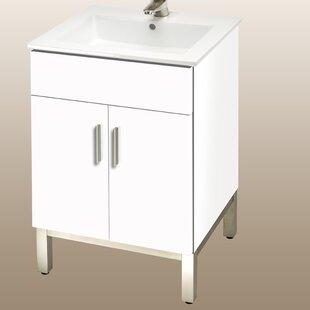 21 Inch Bath Vanity | Wayfair  Inch Bathroom Vanity Sink on 96 in 2 sink bathroom vanity, 21 inch vanity combo, 18 inch wide bathroom vanity, 21 inch vanity for bathroom, 19 inch bathroom vanity,