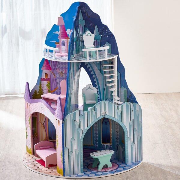 Teamson Kids Dual Theme Dollhouse - Ice Mansion & Dream Castle ... on