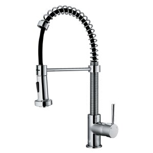 Edison Eastport Pull Out Single Handle Kitchen Faucet Faucets  Wayfair