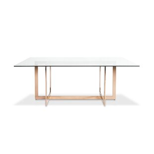 Kendra Dining Table With Glass Top