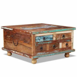 Attrayant Choncey Reclaimed Wood Coffee Table With Storage