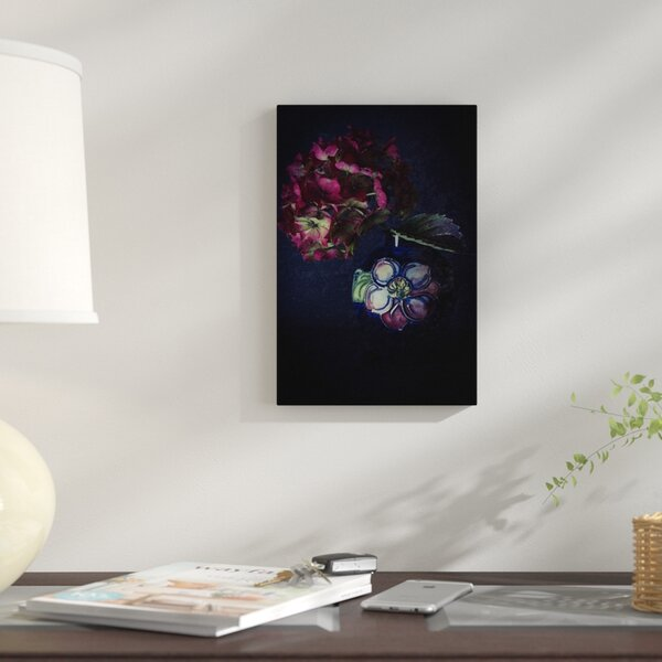 East Urban Home Hydrangea And Moorcroft Vase Photographic Print On