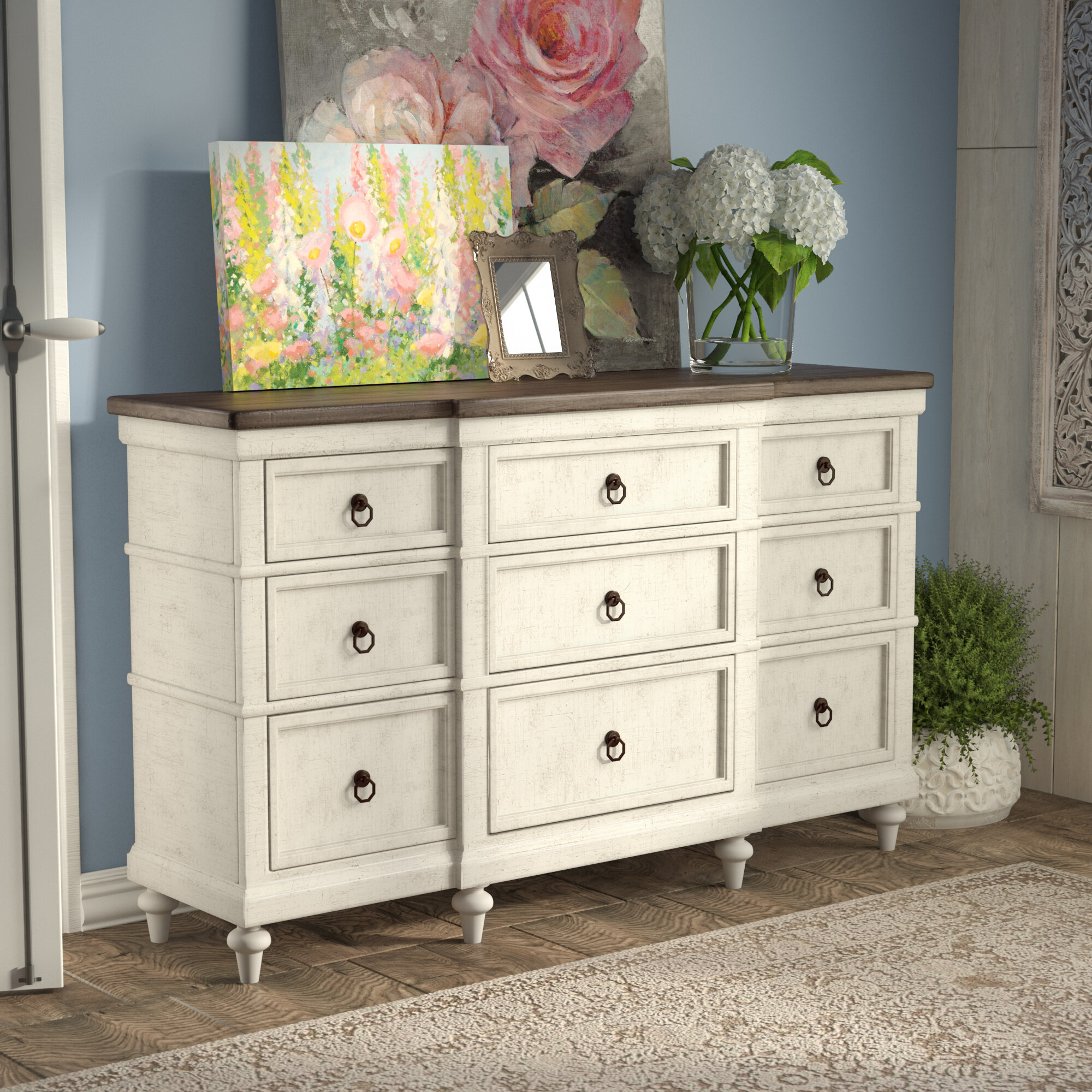 furniture street drawer dresser langley reviews pdp allmodern sunset chest