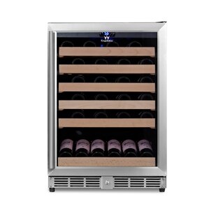 46 Bottle Single Zone Convertible Wine Cooler by Kingsbottle