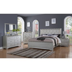 Silver Bedroom Sets You ll Love Wayfair
