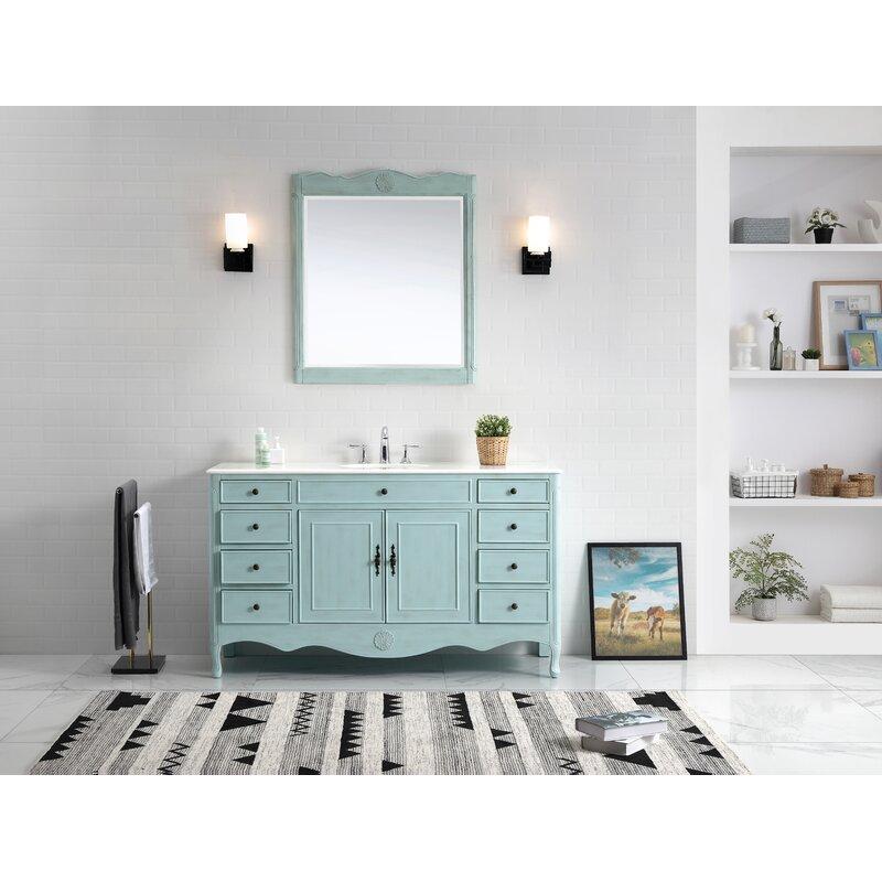 Remarkable Genevieve 60 Single Bathroom Vanity Set Download Free Architecture Designs Boapuretrmadebymaigaardcom