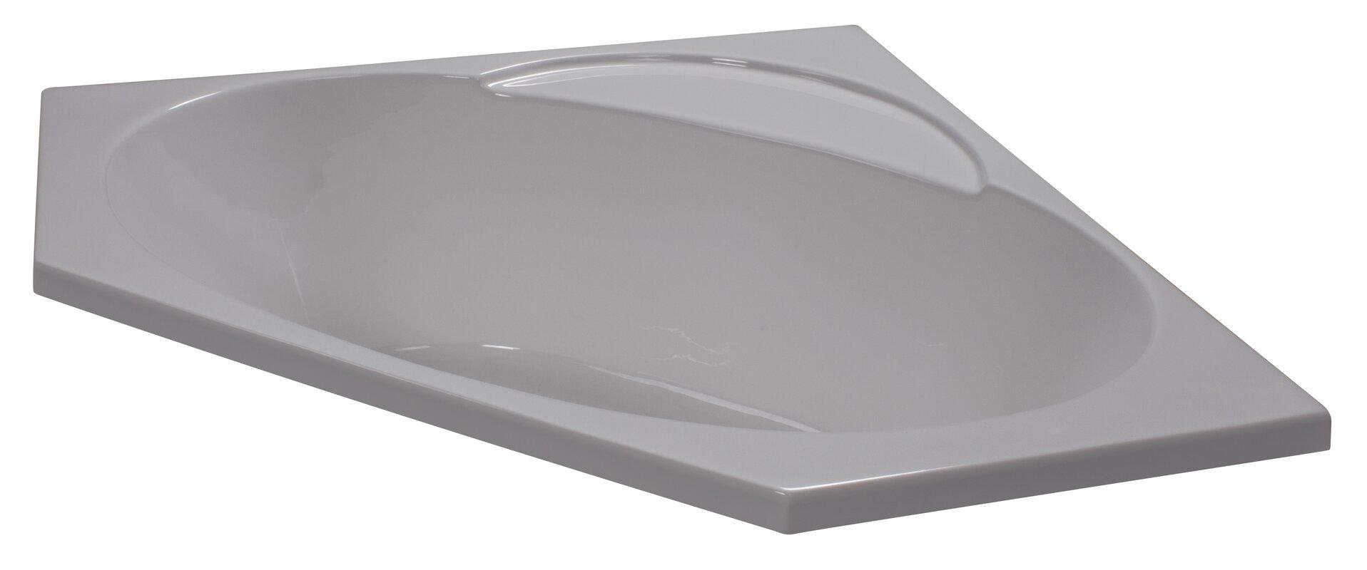 corner bathtub. 48\ corner bathtub