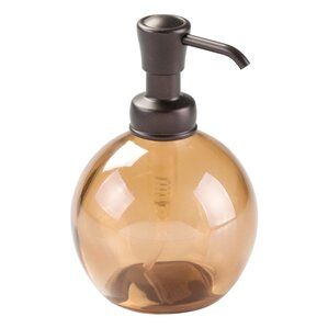 Hamilton Glass Pump Soap Dispenser