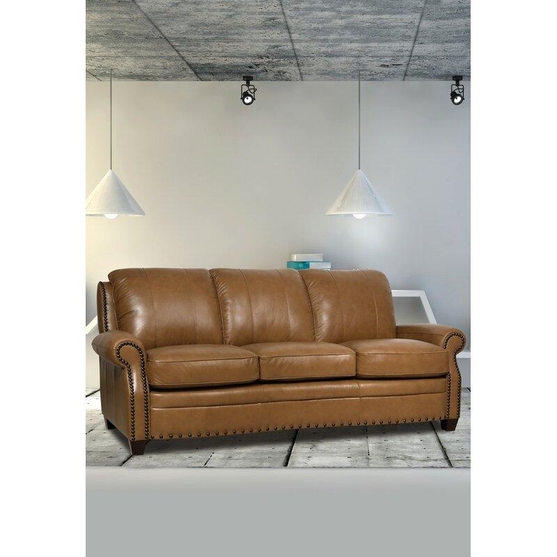 Hubbard Leather Sofa