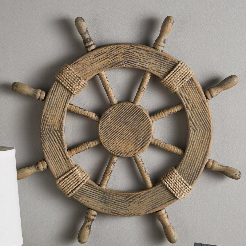 Nautical Ship Wheel Wall Décor