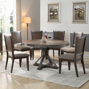 Round Dining Table by BestMasterFurniture