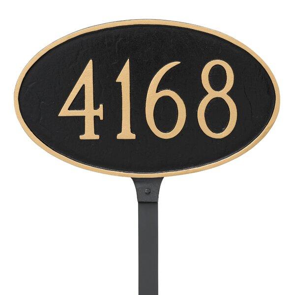 Kitchen Cupboards Montague Gardens: Montague Metal Products 1-Line Lawn Address Sign & Reviews