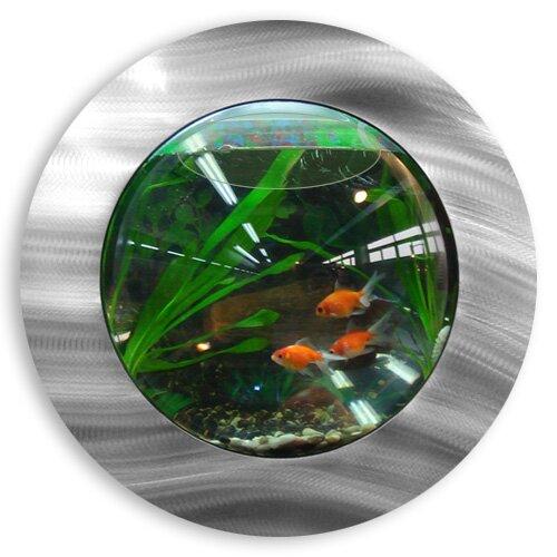 Vandue Corporation 1 Gallon Fish Bubble Deluxe Wall Mounted ...