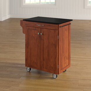 Delana Granite Top Kitchen Cart