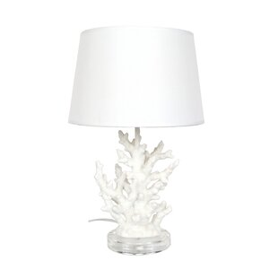 Coral table lamp wayfair coral 1929 table lamp aloadofball Images