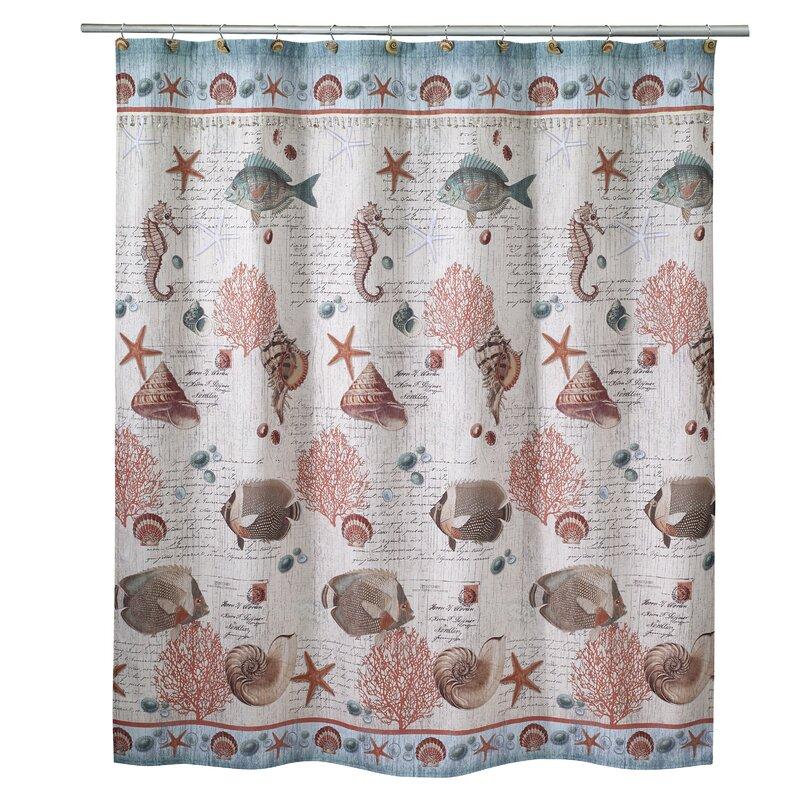 Highland Dunes Castiglione Vintage Shower Curtain   Wayfair