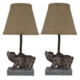 Peppa pig table wayfair shantel flying pig 14 table lamp set of 2 aloadofball Choice Image