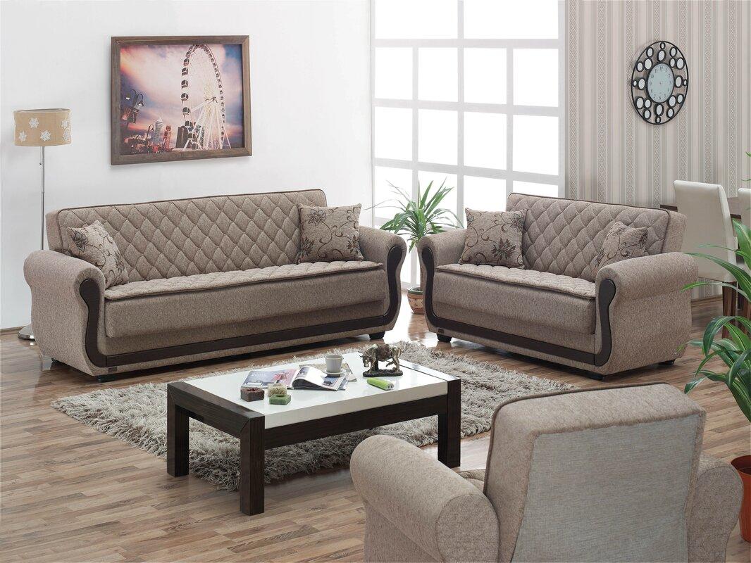 Red Barrel Studio Battles Configurable Living Room Set Reviews