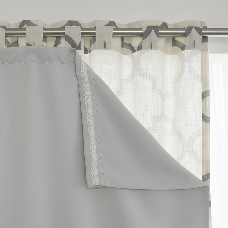 Best Home Fashion Inc Solid Blackout Thermal Curtain Liners Set