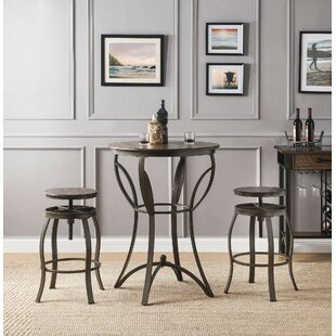 Corrigan 3 Piece Counter Height Dining Set