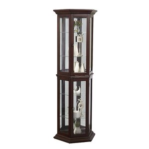 Arbor Lake Lighted Curio Cabinet by Darby..