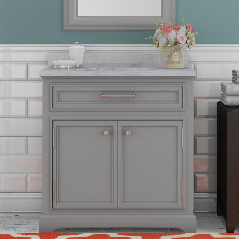 bathroom vanity with single sink. Colchester 30  Single Sink Bathroom Vanity Set Darby Home Co