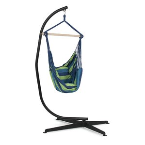 Superior Cotton Chair Hammock With Stand