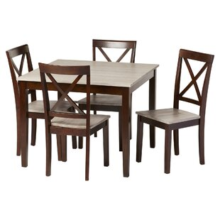 Tilley Rustic 5 Piece Dining Set  sc 1 st  Wayfair & Kitchen \u0026 Dining Room Sets You\u0027ll Love
