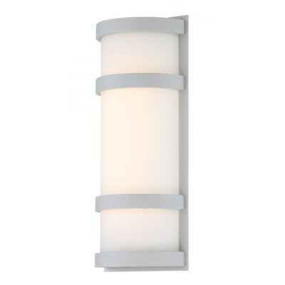 Latitude 1 light led outdoor sconce reviews allmodern latitude 1 light led outdoor sconce mozeypictures Choice Image