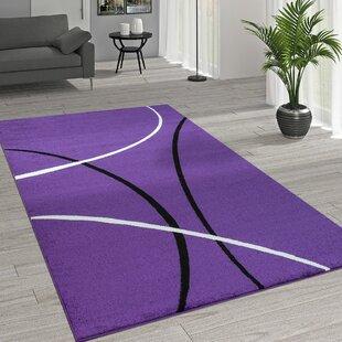 Stephenson Purple Rug by Longweave