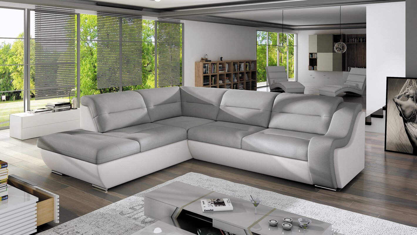 home loft concept ecksofa fatima c mit bettfunktion bewertungen. Black Bedroom Furniture Sets. Home Design Ideas